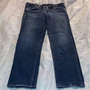 AG Midrise cigarette Jeans Size 32